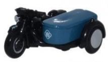 Oxford NBSA002 Motorrad mit Beiwagen RAC