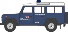 Oxford NDEF014 Land Rover Defender RNLI 1990
