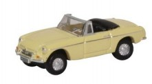 Oxford NMGB002 MGB Roadster Pale Primrose