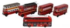 Oxford NSET004 Bus Set London 5-tlg