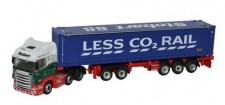 Oxford NSHL01CT Scania R HL CSZ Combitr. E. Stobart