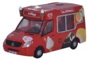 Oxford NWM001 MB Sprinter Eiswagen Mr. Whippy