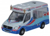 Oxford NWM002 MB Sprinter Eiswagen Whitby Ice Cream