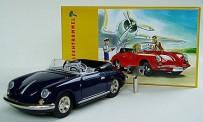 981600 Porsche 356 Cabrio blau Blechmodell
