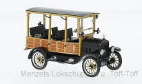 NEO NEO46770 Ford Modell T Woody schwarz 1925