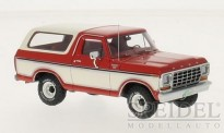 NEO NEO46910 Ford Bronco rot/weiß 1979