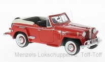 NEO NEO47065 Willys Jeepster rot 1948