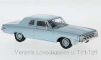 NEO NEO47220 Dodge 330 Sedan, metallic-hellblau, 1964