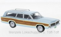 NEO NEO47300 Ford LTD Country Squire, metallic-hellbl