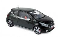 Norev 184812 Peugeot 208 GTi 2013 - Perla Nera Black