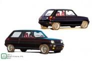 Norev 185114 Renault 5 Alpine 1976  schwarz