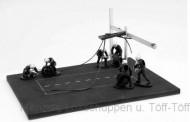 IXO Modelle FIG004SET Set Pit Stop weiß 6 Figuren mit Decals