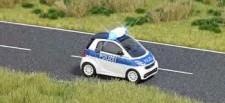 Busch Autos 05623 Smart fortwo Polizei