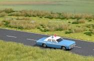 Busch Autos 05629 Dodge Monaco Police