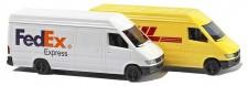 Busch Autos 08304 MB Sprinter Kastenwagen FedEx / DHL