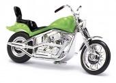 Busch Autos 40155 US Motorrad grün