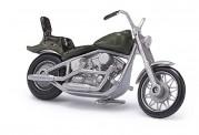 Busch Autos 40158 US Motorrad olive matt