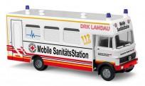 Busch Autos 40705 MB LP809 DRK Mobile Sanitäts-Station