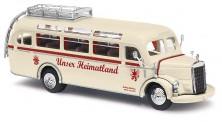 Busch Autos 41010 MB O3500 Reisebus Unser Heimatland