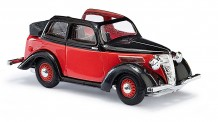 Busch Autos 41204 Ford Eifel Cabrio rot/schwarz