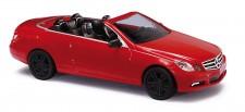 Busch Autos 41679 MB E-Klasse Cabrio Sport rot