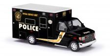 Busch Autos 41801 Ford E-350 Police - Special Service Unit
