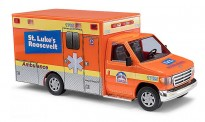 Busch Autos 41839 Ford E-350 RTW Ambulance