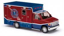 Busch Autos 41840 Ford E-350 RTW Raytown Ambulance