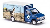 Busch Autos 41843 Ford E350 RTW Wyoming Antelope