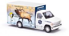 Busch Autos 41845 Ford E350 RTW Wyoming Elk