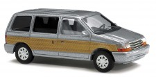 """Busch Autos 44623 Plymouth Voyager """"Woody"""", silbermet."""