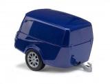 Busch Autos 44992 Clevertrailer blau