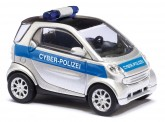 Busch Autos 46149 Smart Fortwo´07 Cyberpolizei