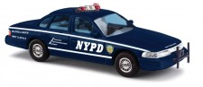 Busch Autos 49002 Ford Crown Victoria US Police