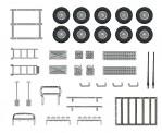 """Busch Autos 49952 Zubehör-Set """"Offroad"""""""