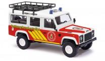 Busch Autos 50370 Land Rover Defender 110 Rettungshund.