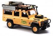 Busch Autos 50371 Land Rover Defender Camel Tropy Italien