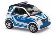 Busch Autos 50716 Smart Fortwo Coupé Polizei 2014