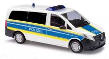 Busch Autos 51123 MB Vito Bundespolizei (blau/leuchtgelb)