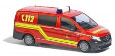 Busch Autos 51146-01 MB Vito Halbbus FW Dortmund - LKW 28