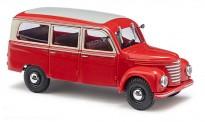Busch Autos 51250 Framo V901/2 Bus rot