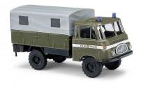 Busch Autos 51600 Robur LO1800 A Pritsche/Pl. Volkspolizei