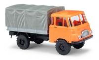 Busch Autos 51602 Robur LO1800 A Pritsche/Pl. orange