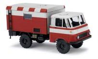 Busch Autos 51655 Robur LO 1801 A Koffer Flugfeldwagen