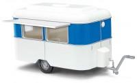 Busch Autos 51750 Verkaufswagen Nagetusch weiß/blau