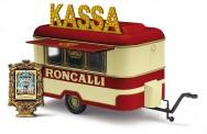 Busch Autos 51752 Nagetusch Verkaufsanhänger Roncalli