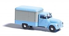 Busch Autos 52001 Framo V901/2 Koffer blau/weiß