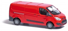 Busch Autos 52400 Ford Transit Custom Kasten rot