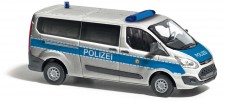 Busch Autos 52414 Ford Transit Custom Bus Polizei Berlin