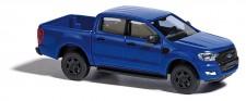 Busch Autos 52803 Ford Ranger XL DoKa Pritsche blau